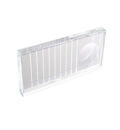 Soporte Cristal adhesivo y Extensiones de Pestañas