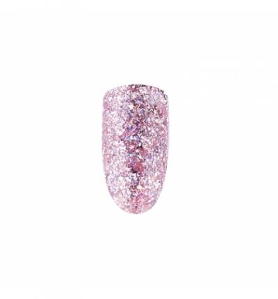 Gel Polish *102 MIX Pink Holographic Shimmer 10ml SPEKTR