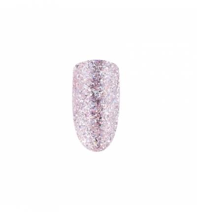 Gel Polish *103 MIX Dusty Pink Holographic Shimmer 10ml SPEKTR